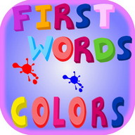 First Words Colors - Kids Puzzle