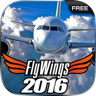 Flight Simulator 2016 FlyWings FREE - A realistic flight simulator for Android