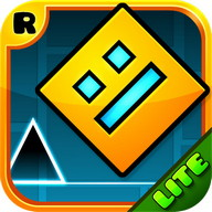 Geometry Dash - A platformer to play with just one button