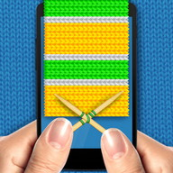 Gran Knit Simulator - Make a scarf on your smartphone