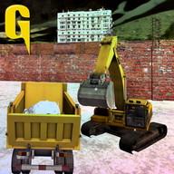 Tarak kar yüklü kamyon 3D