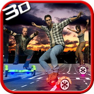 hoverboard 3D محاكاة سباقات