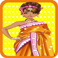 Indian Bride Dress Up Makeover