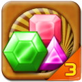Jewel Quest 3 - Enjoy a match-3 game on top of nature wallpapers