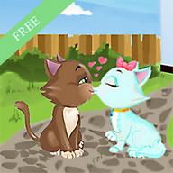 Kitty kiss