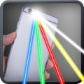 Laser Beams Phone Simulator