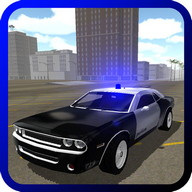 Muscle Police Car Driving