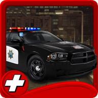 Parkir polisi Simulasi