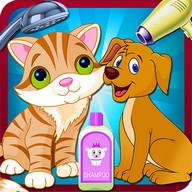 Pets Wash Salon Girls Games