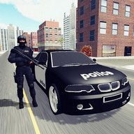 Police Car Chase 3D - Shoot at the bad guys from your police car ... in 3D!