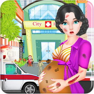 Pregnant Girl Emergency Doctor