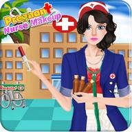 Hamile hemşire oyunları makyaj