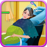 Pregnant Bathing - Girls Games