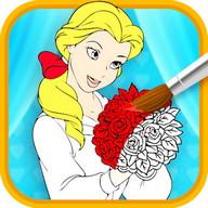 Princess Girl Coloring
