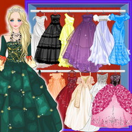 Doll Princess Prom Dress Up