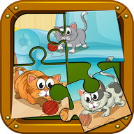 Pets Puzzle Games For Kids