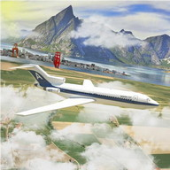 Gerçek Uçak Simülatörü 3D