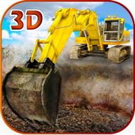 Penggali Pasir Simulator 3D