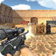 Sniper Spara tensioni Sparo