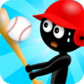 Stickman Baseball - Can you bat 1000?