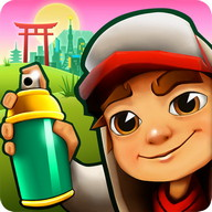 Subway Surfers - Skate at full speed and escape the police
