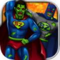 Super hero Zombie