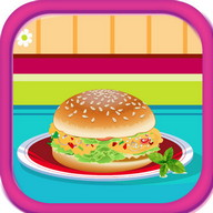 Tuna Burgers Cooking Games
