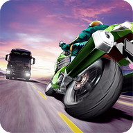 Traffic Rider - Get on your motorcycle and whizz at top speed through traffic