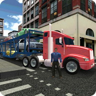 Transport Truck City Cargo