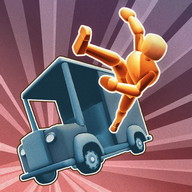 Turbo Dismount - An authentic kinetic tragedy on wheels