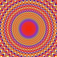 Visual optical illusions