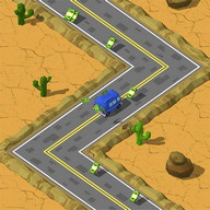 ZigZag Rally Racer - Drive your truck and get money