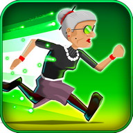 Angry Gran Radioactive Runaway - The radioactive grandma runs through the city in this endless runner