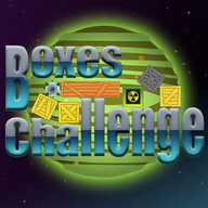 Boxes Challenge - Remove the boxes and conquer outer space