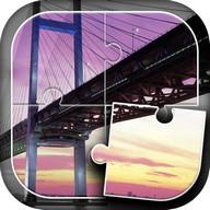Mosty Układanka Gra Bezpłatny