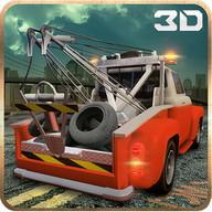 Car Tow Truck Driver 3D