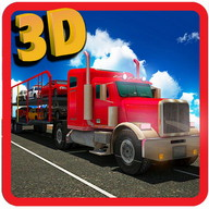 Car Transporter Trailer 3d Sim
