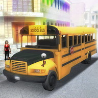 City School Bus 3D Conductor