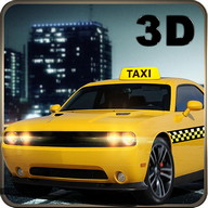 City Taxi Car Duty Driver 3D