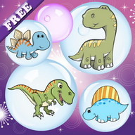 Dinosaurs Bubbles for Toddlers