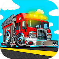Fire truck childs games