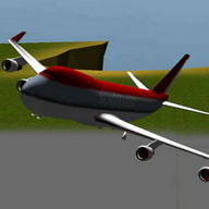 3D Airplane flight simulator 2