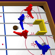 Table Ice Hockey 3d