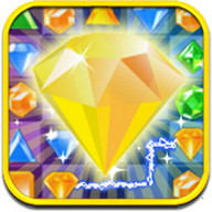 Jewels Link Mania - Match colored jewels and collect points from their explosions