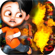Kids Fire Brigade - Join this special fire brigade and put out the fire