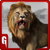 Lion Wild Serangan Simulator