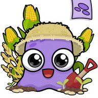 Moy Farm Day - Take care of the purple creature's beautiful farm and help it grow