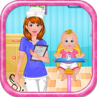 Newborn care baby games
