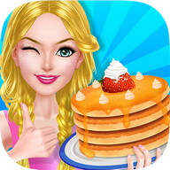 Cooking Beauty's Pancake House