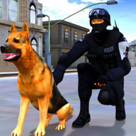 Suç İl Emniyet Köpek Chase